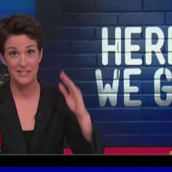 Rachel Maddow Has Lost Her Mind, This is What Fascism REALLY Looks Like