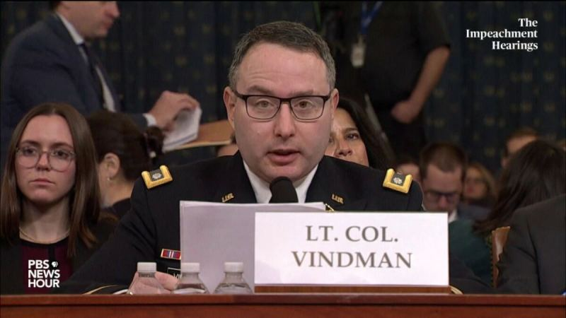 BUSTED! Lt. Col. Vindman Reveals He Lied to Congress During Impeachment Sham