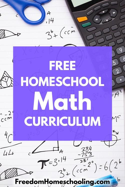 small resolution of Freedom Homeschooling   Free Homeschool Math Curriculum
