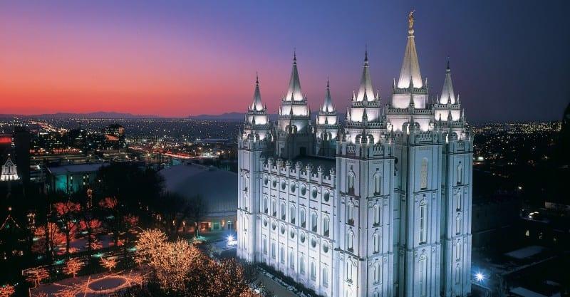 SLC Mormon temple