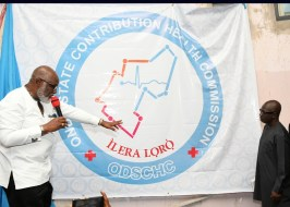 Image result for Akeredolu unveils health Commission logo