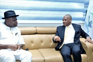 NIMASA key in stopping Nigeria's oil dependence, says Diri
