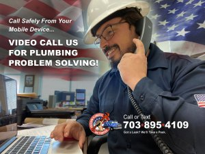 Safe Video Conference Plumbing Problem Solving