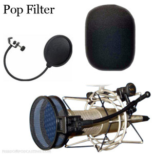 Podcast Pop Filter