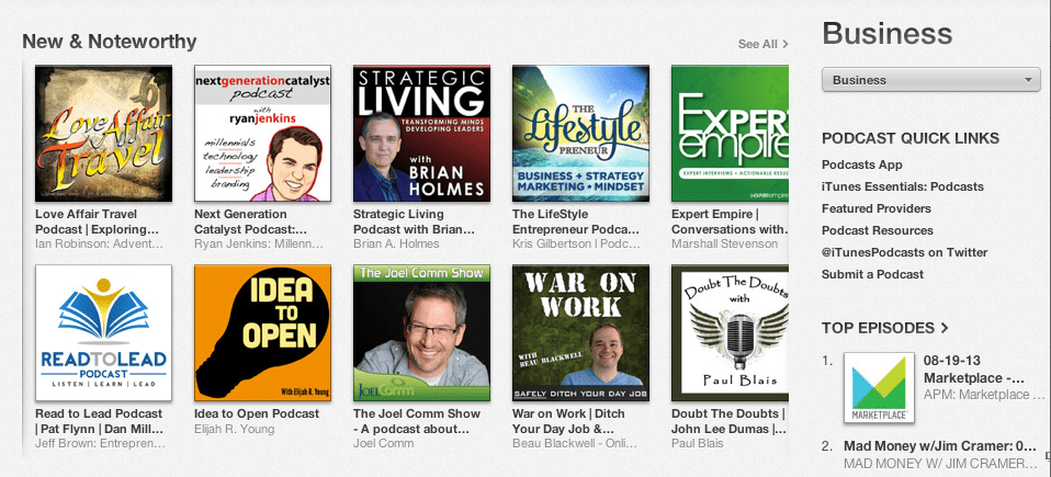 New and Noteworthy iTune