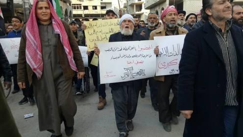 مظاهرة في دوما احتجاجاً على مجلة طلعنا عالحرية (9)