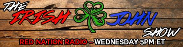 The Irish John Radio Show STARTS TONIGHT!!!!