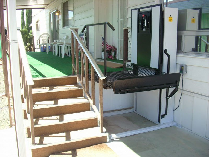How much does a residential wheelchair lift cost for 2 story wheelchair lift