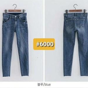 韓國🇰🇷Howluk #6000 貼腳顯瘦牛仔褲