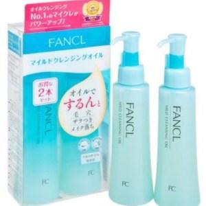 日本🇯🇵FANCL 皇牌👑無添加納米卸妝油 (日本版1盒2支裝)~FANCL Mild Cleansing Oil