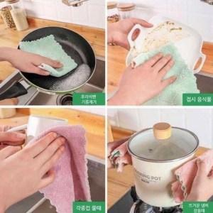 韓國🇰🇷熱賣🔥魔力清潔抹布 ~1套12條
