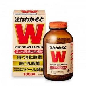日本🇯🇵 WAKAMOTO 強力若元健胃清腸丸 1000粒