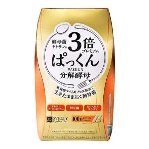 日本🇯🇵SVELTY 糖質3倍分解酵母甲殼素加強版100粒