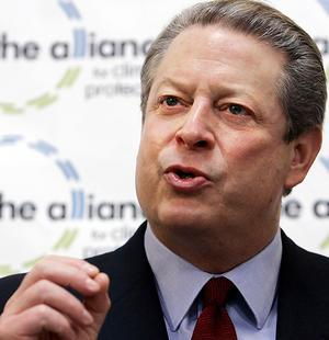 Picture of Al Gore from AP