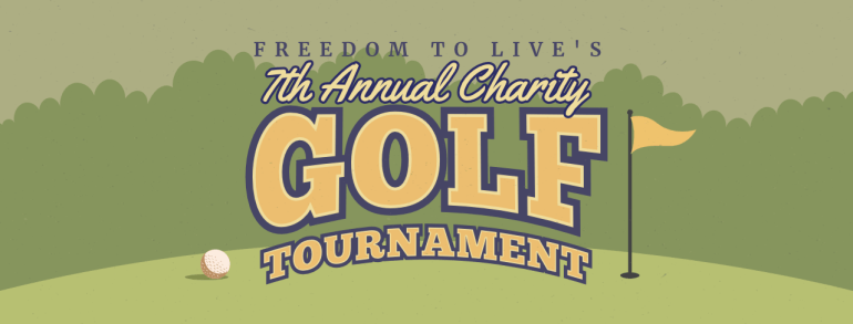 Annual Charity Golf Tournament Flyer