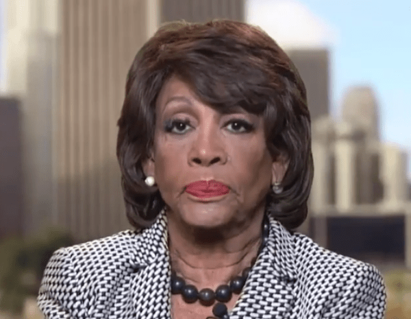 Maxine Waters Threatens That House Dems Will Not Stop Pursuing Trump