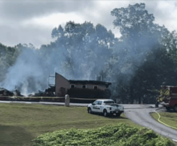 Church That Refused To Shutdown During Lockdown Gets Burnt Down