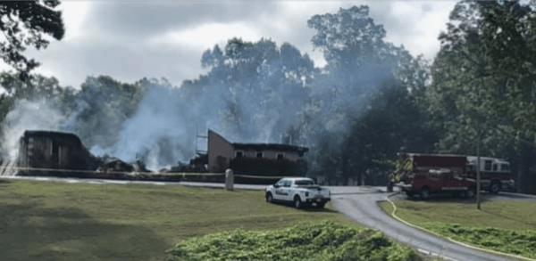 Church That Refused To Shutdown During Lockdown Gets Burnt Down