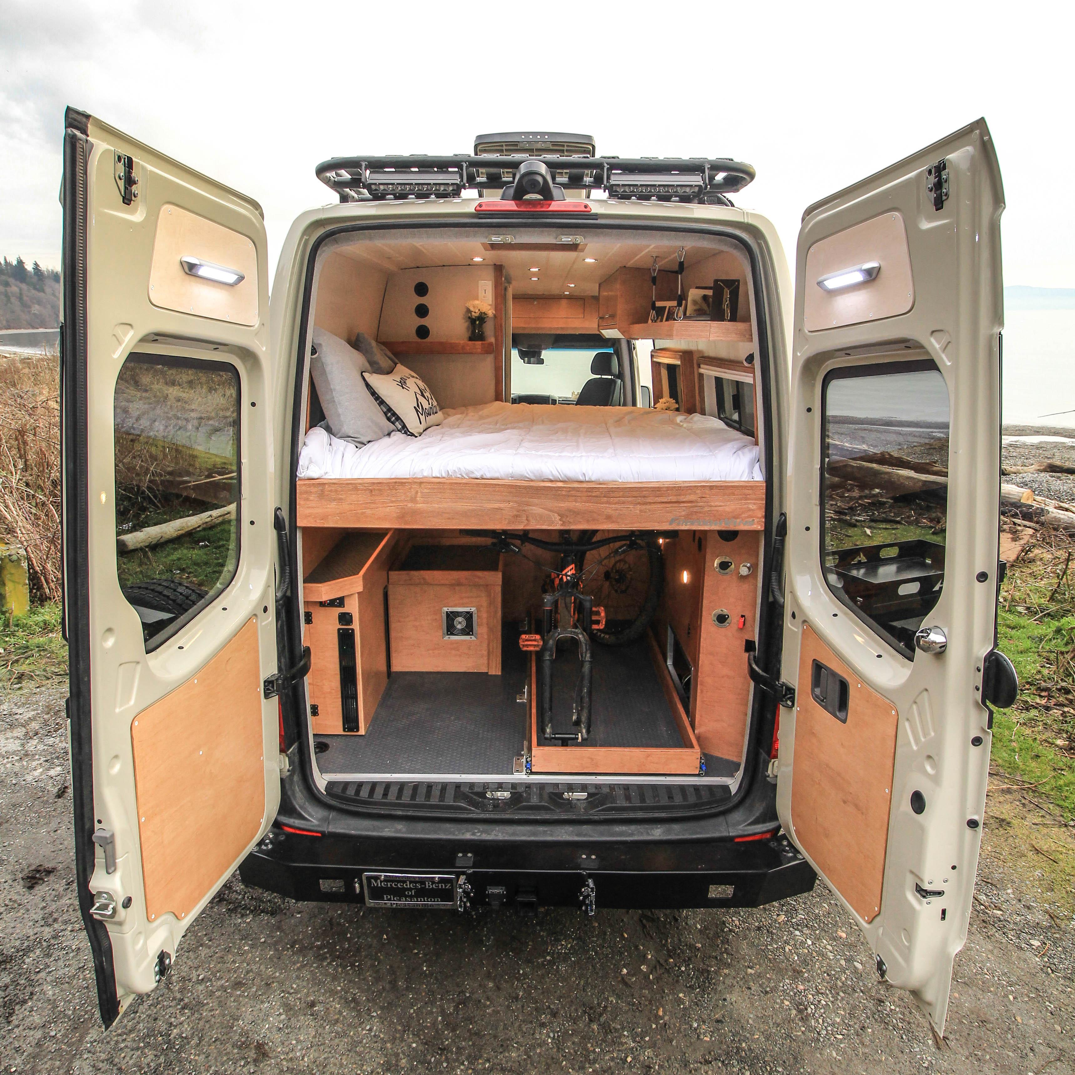 Fitz Roy - Freedom Vans 170 Sprinter Van Conversion