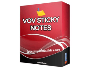 VovSoft Vov Sticky Notes Crack