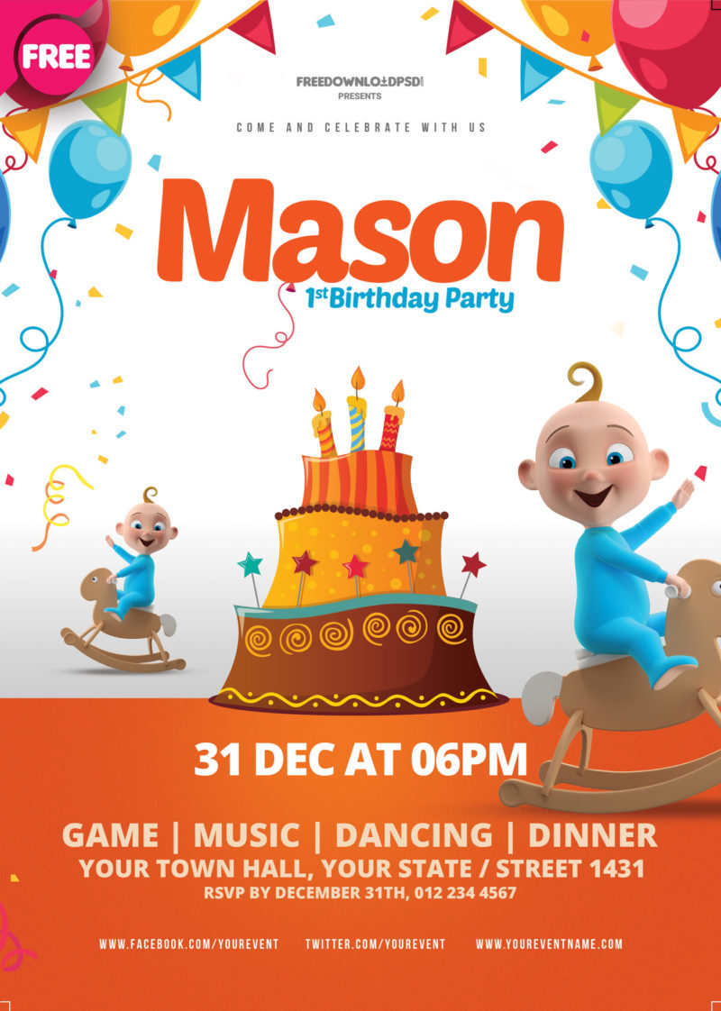 free download birthday party