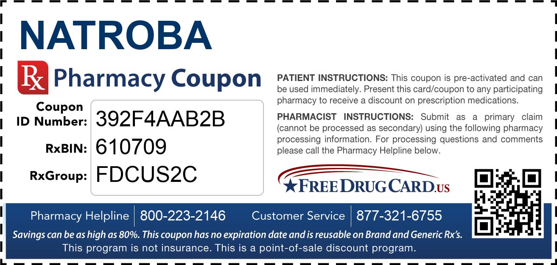 Natroba Coupon - Free Prescription Savings at Pharmacies ...