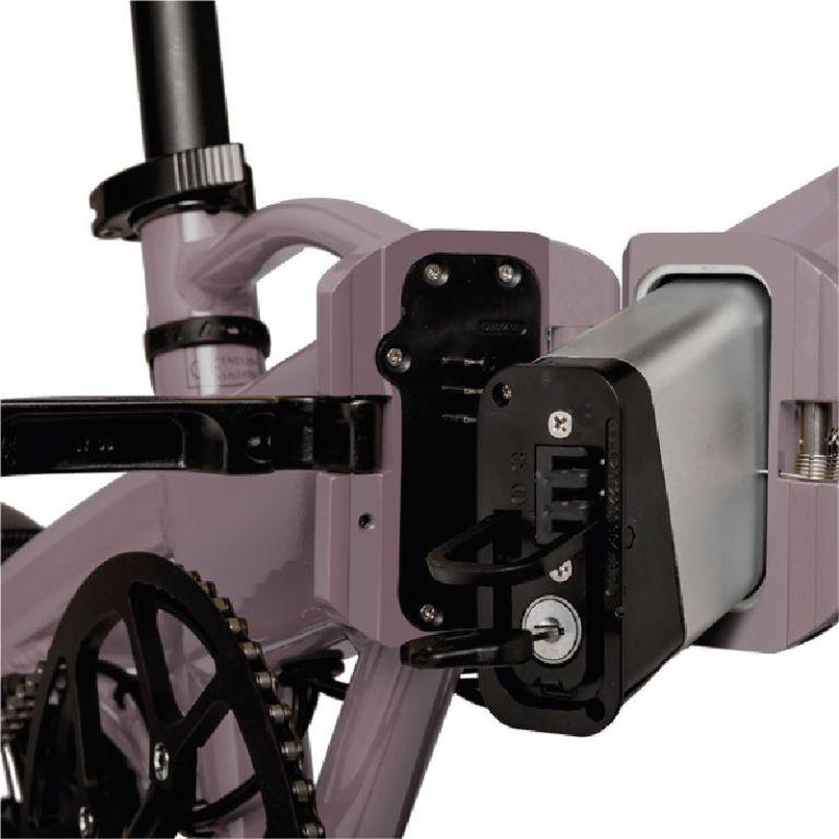 Bicicleta eléctrica Freeel Z03 Berenjena Mate