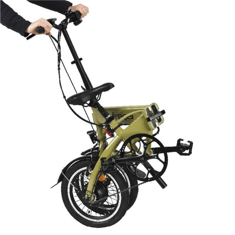 Freeel Bicicletas Eléctricas. Freeel Z03-S Verde Oliva Mate