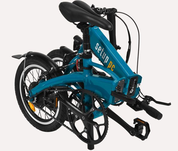 Bicicleta eléctrica plegable Freeel · Servicios a empresas