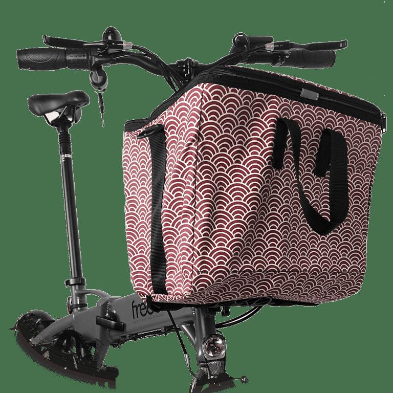 Bolsa delantera olas de alta capacidad para bicicleta eléctrica freeel Z03
