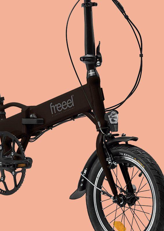 Freeel Bicicletas Eléctricas. Freeel Z03, la bicicleta plegable diseñada en Barcelona. Freeel Z03 Chocolate