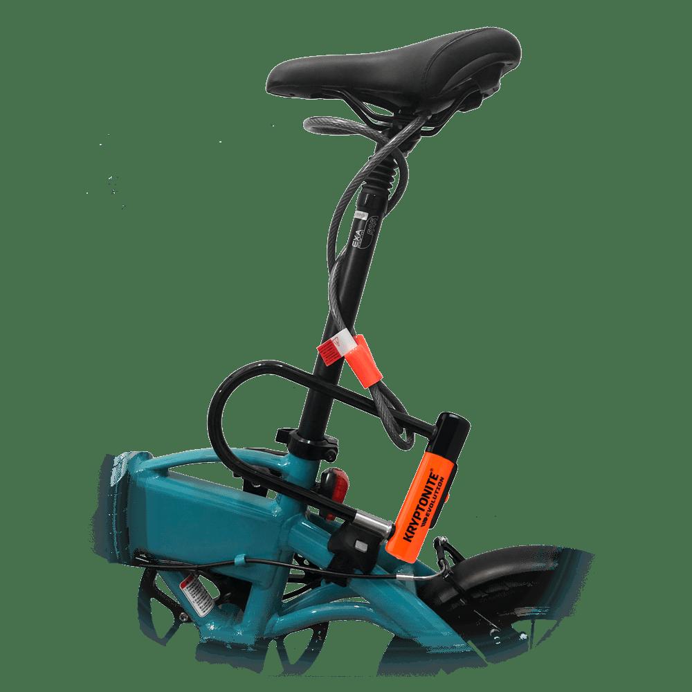 Candado Kryptonite Evolution Mini 7 para bicicleta eléctrica Freeel Z03