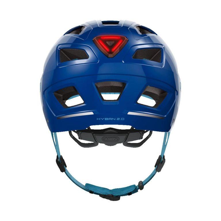 Casco Abus Hyban 2.0 Core Blue para bicicleta eléctrica Freeel Z03