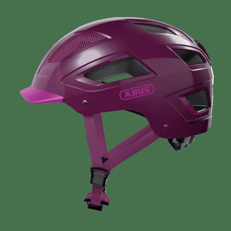 Casco Abus Hyban 2.0 Core Purple para bicicleta eléctrica Freeel Z03