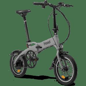 Freeel Bicicletas Eléctricas. Freeel Z03 Stone Grey, bicicleta eléctrica, plegable y ligera