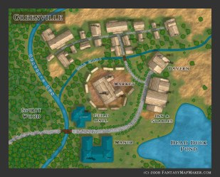 fantasy map rpg town maker greenville village maps kingdom community edge games cities dnd villages towns minecraft cartography dragons pathfinder