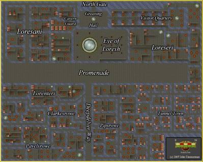 Fantasy Dungeon Map #3 - Free Fantasy Maps