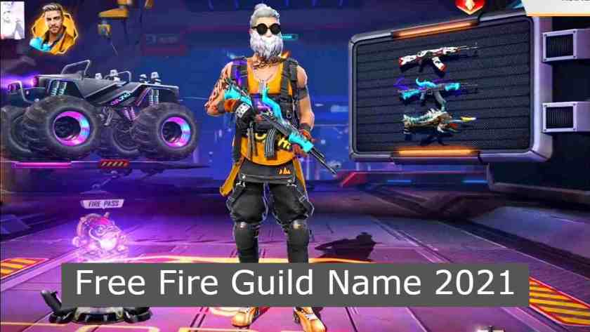 Free Fire Guild Name