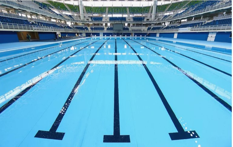 how long is an olympics size pool