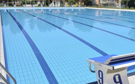 how long is an Olympics size pool?