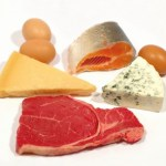 A selection of animal proteins.