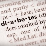 A close up of a dictionary definition of diabetes.
