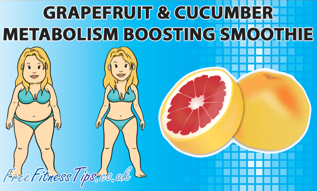 Grapefruit & Cucumber Metabolism Boosting Smoothie