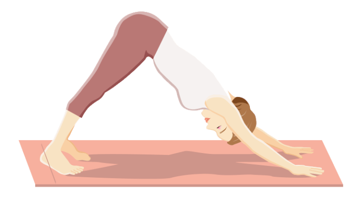 Stretch 6 - Downward Facing Dog