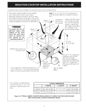 Electrolux induction cooktop installation instructions