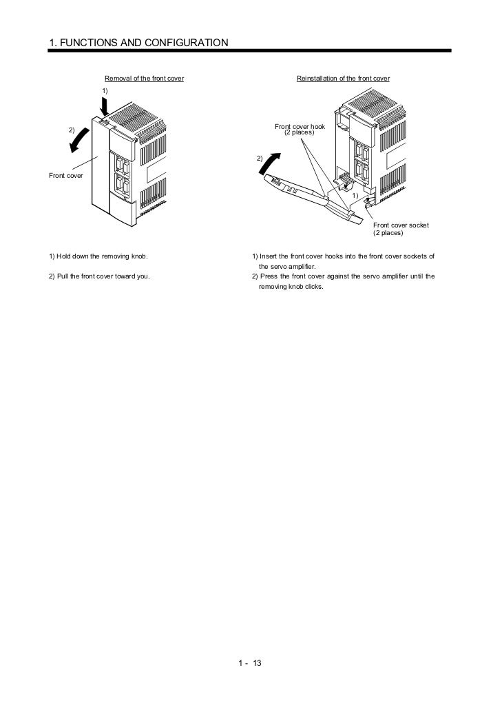 A 230 servo amplifier instruction manual