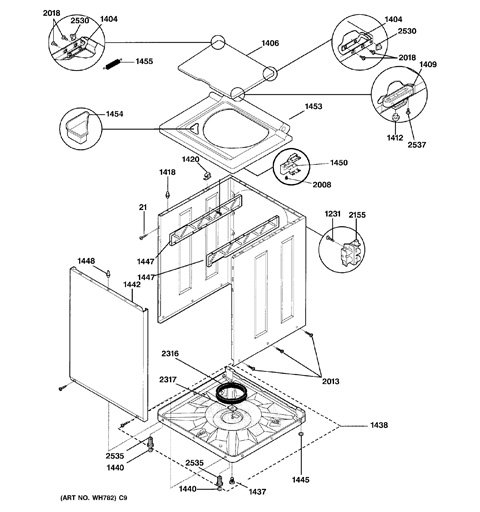 Ge spacemaker washer dryer instructions
