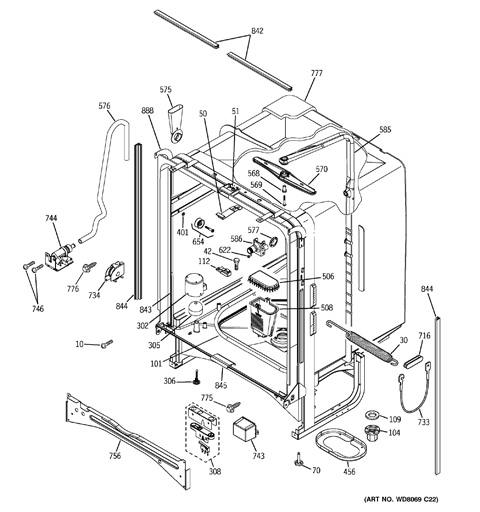 Kenmore 16484300 dishwasher installation instructions