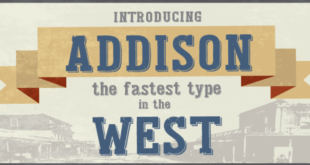 Addison Font 310x165 - Addison Font Family Free Download