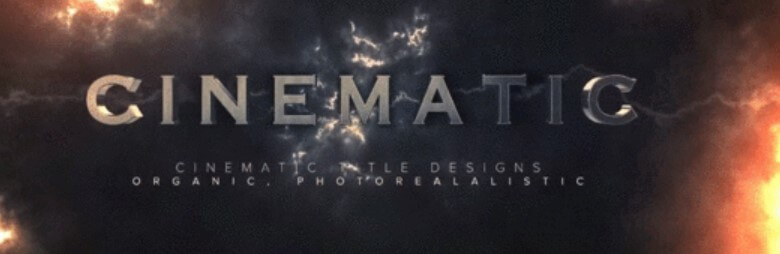 Cinematic 3d Text Effect